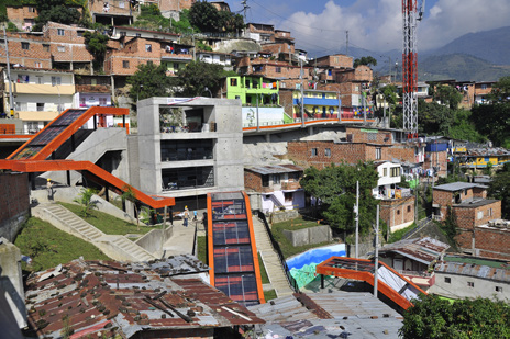 Local Leaders Cities as a Lab Introduction 14 15 Medellin, Colombia is a South American city that is leading the way through innovative efforts on placemaking and public space creation.