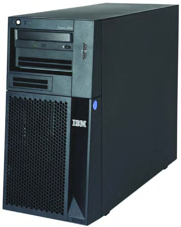System x3200 M3 (withdrawn) Model 1 Processor Second CPU RAID controller Disk bays Disks Network Optical Power Announced / Withdrawn 7327/7328-42x 1x Intel Xeon X3440 2.