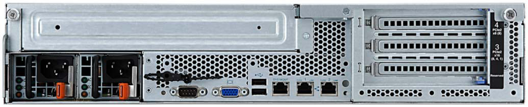 "5"" HS Open 2x GbE Optional 1x 460 W Feb 2011/Mar 2013 7376-44x 1x Xeon E5620 2.40 GHz 4C 12 MB 1066 MHz 69Y1225 1x 4 GB M1015 8x 3."