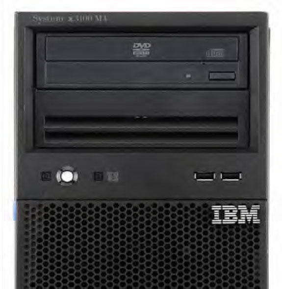 System x3100 M4 (withdrawn) Model 1 Intel Processor (one maximum) RAID controller Disk bays Disks Network Optical PCIe 3.0 Power supply Announced / Withdrawn 2582-A2x 1x Core i3-2120 3.
