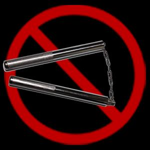Nunchakus Nunchakus are weapons with handles made of any hard