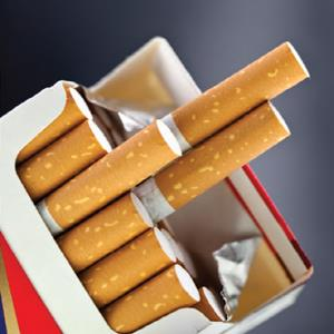 Tobacco and Cigarettes If you re aged 18 or older, you can bring in duty free: up to 50 cigarettes OR 50 grams of tobacco products PLUS one open packet of cigarettes with 25 or less cigarettes in it.
