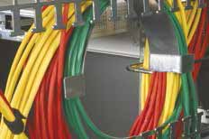 Velcro cable ties also aid the installation technician as they are easily manageable, using pinch-free cable bundling.