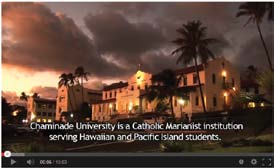 In an effort to reach first-generation students who are of Native Hawaiian, Pacific Islander, and Asian descent, Chaminade University of Honolulu developed a series of informational videos for