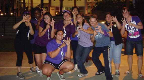 During Summer 2009, California Lutheran University s first group of nine transfer students participated in Student Support Services six-day summer bridge program called SOAR-Summer Orientation to