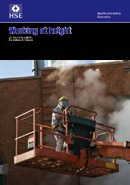 Working at height A brief guide Introduction This brief guide describes what you, as an employer, need to do to protect your employees from falls from height.