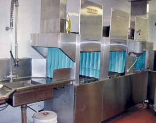 4.10 Commercial Dishwashers There are no federal standards limiting the water or energy consumption of commercial dishwashers. The U.S.