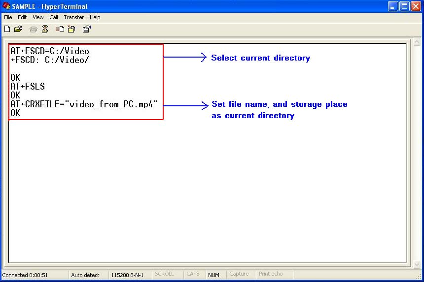 Set file name and storage place Firstly, it must set file name and storage place in file system of module by one of following methods: 1.