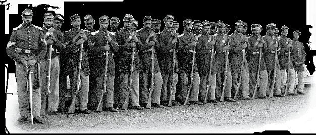 Black Soldiers in the Civil War When the American Civil War began in 1861, Jacob Dodson, a free black man living in Washington, D.C., wrote to Secretary of War Simon Cameron informing him that he knew of 300 reliable colored free citizens who wanted to enlist and defend the city.