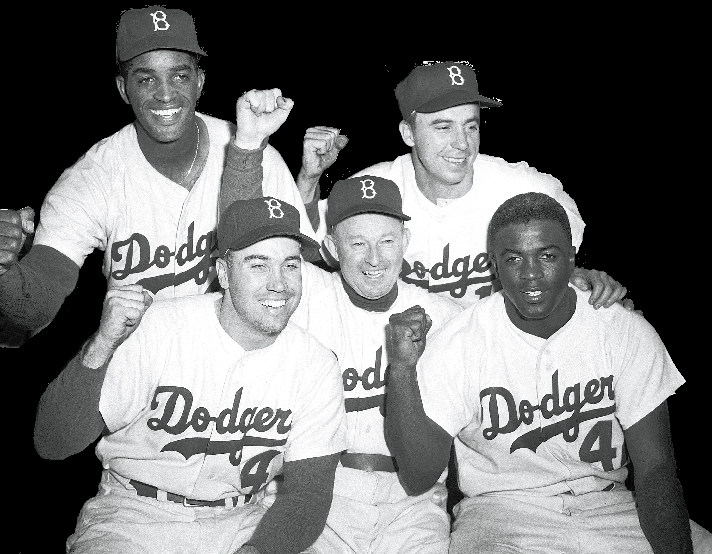 Jackie Robinson: Breaking the Color Barrier The Brooklyn Dodgers arrived at Shibe Park, bringing their new lightning rod of controversy to the baseball stadium in Philadelphia, Pennsylvania a black