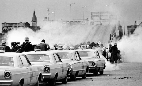 Bloody Sunday, Selma, Alabama, March 7, 1965. The suppression of the first Selma-to-Montgomery civil rights march was swift and thorough. I thought I saw death, said future U.S. Representative John Lewis.