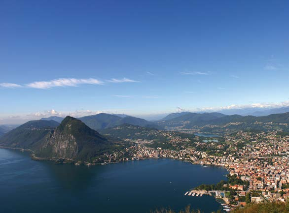 Living in Ticino 27 Lugano Lugano is not only Switzerland s third most important financial centre and a conference, banking and business centre, but also a town of parks, flowers and villas.