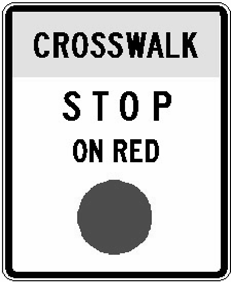 gaps in traffic are not adequate to permit reasonably safe pedestrian crossings, or if the speed for vehicles approaching on