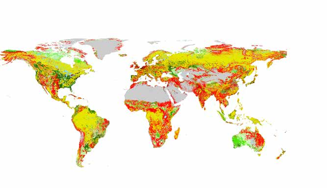 2 Recent and long-term trends of global land use Figure 2.