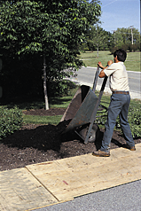 Instructions for Compost Used as a Soil Amendment for: Planting Bed Establishment Step 1: Step 2: Step 3: Evenly apply compost at a rate of 135-270 cubic yards per acre (1-2 inch layer) or 3-6 cubic