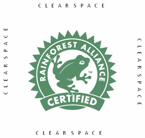 Design Specs Examples of Acceptable Placement of the Qualifying Statement or Disclaimer Text Examples of Incorrect Use of the Rainforest Alliance Marks Design Specs A. B. C.