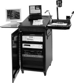 Effective Use of Courtroom Technology: A Judge s Guide to Pretrial & Trial stand. This equipment is designed to work with computers. It does not work with directly connected evidence cameras.