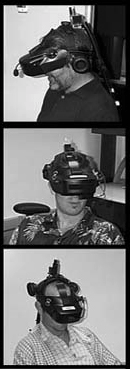 Effective Use of Courtroom Technology: A Judge s Guide to Pretrial & Trial Virtual reality displays Immersive virtual reality equipment can be configured cost effectively using a headmounted display