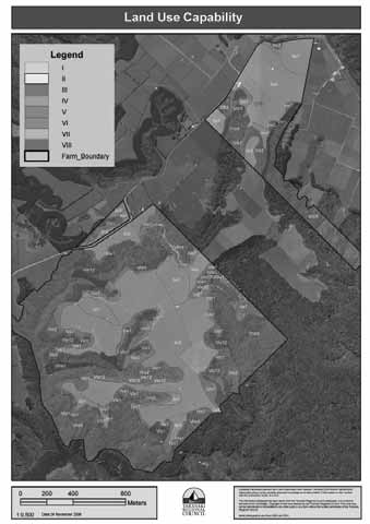 Figure 21: LUC mapping at the farm
