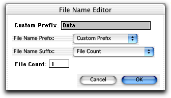 4 Click the Change button next to Directory; create or choose a data storage folder in the location dialog that appears.