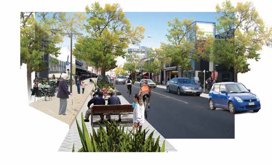 Main Streets Ngā huarahi matua Victoria Street and Colombo Street south will be significant shopping and business streets.