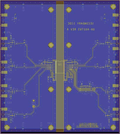 Application Note AN-0971 0 5 180MHz EMISSIONS (dbµv/m) 10 15 20 25 360MHz 30 35 0 50 100 150 200 250 300 STITCHING CAPACITANCE (pf) Figure 20.