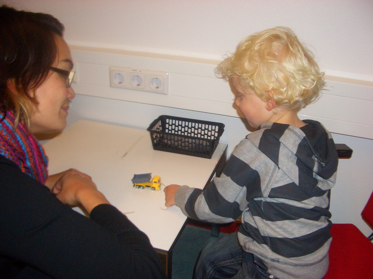 Experiment Participants 11 healthy