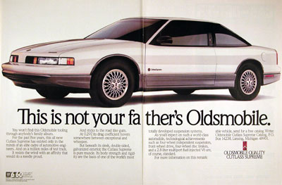 2 New Media journalism is not your father s Oldsmobile Back in the day 1988 to be exact a General Motors advertising campaign tried to reinvent the dying Oldsmobile automobile line for younger