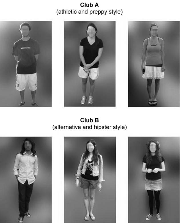 564 JOURNAL OF CONSUMER RESEARCH Importantly, however, there were also some differences: many club A members dressed in athletic or preppy attire, whereas club B members favored a more hipster or
