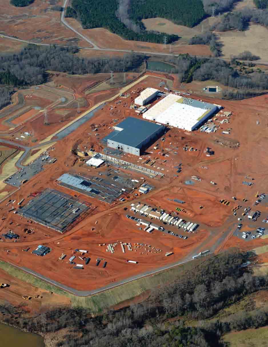 Project Spotlight Michelin s 800,000 sq. ft.