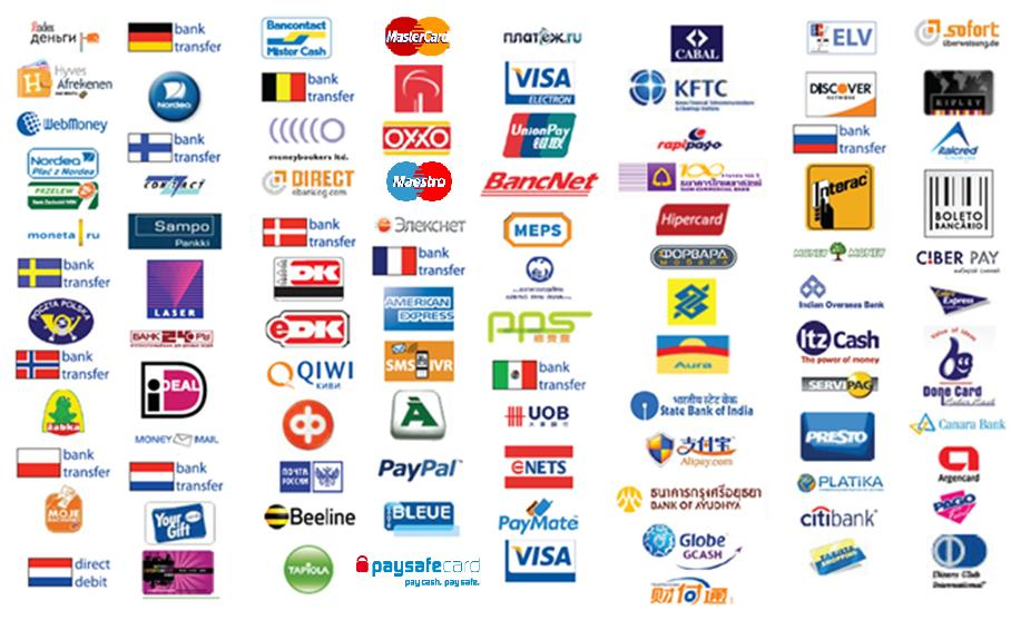leading to endless payment methods to match all