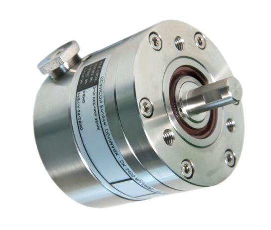 Oil & Gas / Heavy Industry EX-Proof Stainless Steel Shaft Encoder - Ø 68 mm Shaft - Ø 10 mm to Ø 5/8 inch Resolution up to 10,000 ppr IP 66 (IP 67 option) ATEX certified EX-Proof IECEx certified