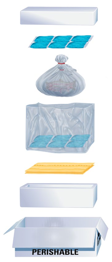 How to Keep Products Refrigerated During Transit Gel coolants are preferable to wet ice. Freeze the coolants according to the manufacturer s guidelines. Precool the insulated container, if possible.