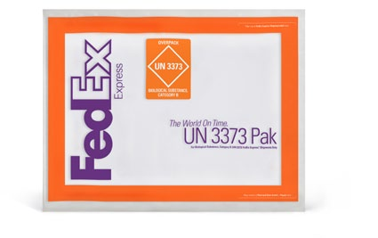 FedEx Clinical Pak FedEx Medium Clinical Box, FedEx Large Clinical Box Packaging Restrictions Plastic bags and paper envelopes are unacceptable outer containers.