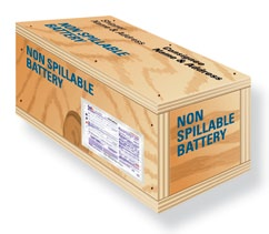 When improperly handled, packaged, or stored, batteries pose a risk for corrosive chemical and electrical fires. Emphasis must be placed on safety when packaging and transporting them.