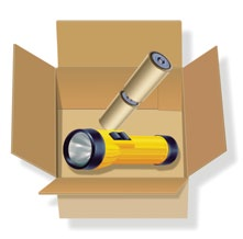 Shipping Dry Batteries Dry batteries are sealed, nonvented batteries used in flashlights or small appliances.