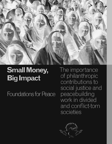 familiar with foundations and the NGO sector Design including cover, layout, and online material Distribution