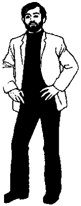 32. Hands on hips, a typical readiness gesture 33. Sit-down readiness This gesture is one in which an individual communicates his desire to be ready and able.