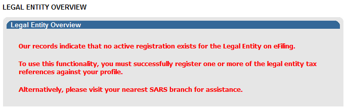 6 ACTIVATE REGISTERED REPRESENTATIVE TAX PRACTITIONER AND ORGANISATION The Activate Registered Representative functionality allows the representative to be activated as the assigned Representative