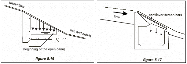 Guide on How to Develop a Small Hydro Site ESHA 2004 Figure 5.17: Secondary current along the outer bend of a curved river. Photo 5.