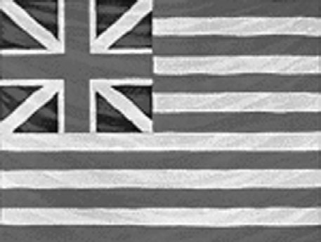HANDOUT Flag Timeline Grand Union Flag 1775 HANDOUT FLAG TIMELINE unofficial national flag and ensign of the Navy until June 14, 1777, when the Continental Congress authorized the Stars and Stripes.
