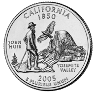 View all the 50 State Quarters Products California The first quarter released in 2005 honors California, and is the 31st in the United States Mint's 50 State Quarters Program.