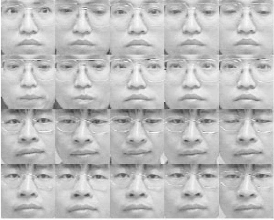 L.-F. Chen et al. / Pattern Recognition 33 (2000) 1713}1726 1715 the face-only database is the face portion containing only the eyes, nose and mouth.