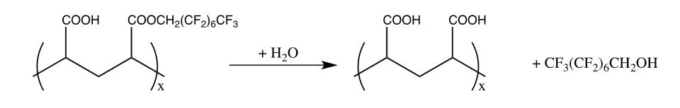 octanol (CAS N0 307-30-2). Gas phase photo-oxidation will lead to CF3(CF2)6CHO and subsequently in part to PFOA.