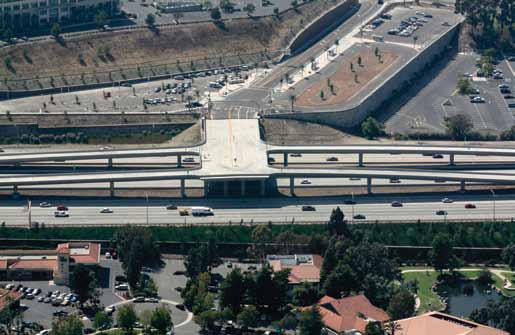 The Rancho Bernardo direct access ramps and transit station give toll payers, carpoolers, and bus riders access to congestion-free lanes on I-15 in San Diego.