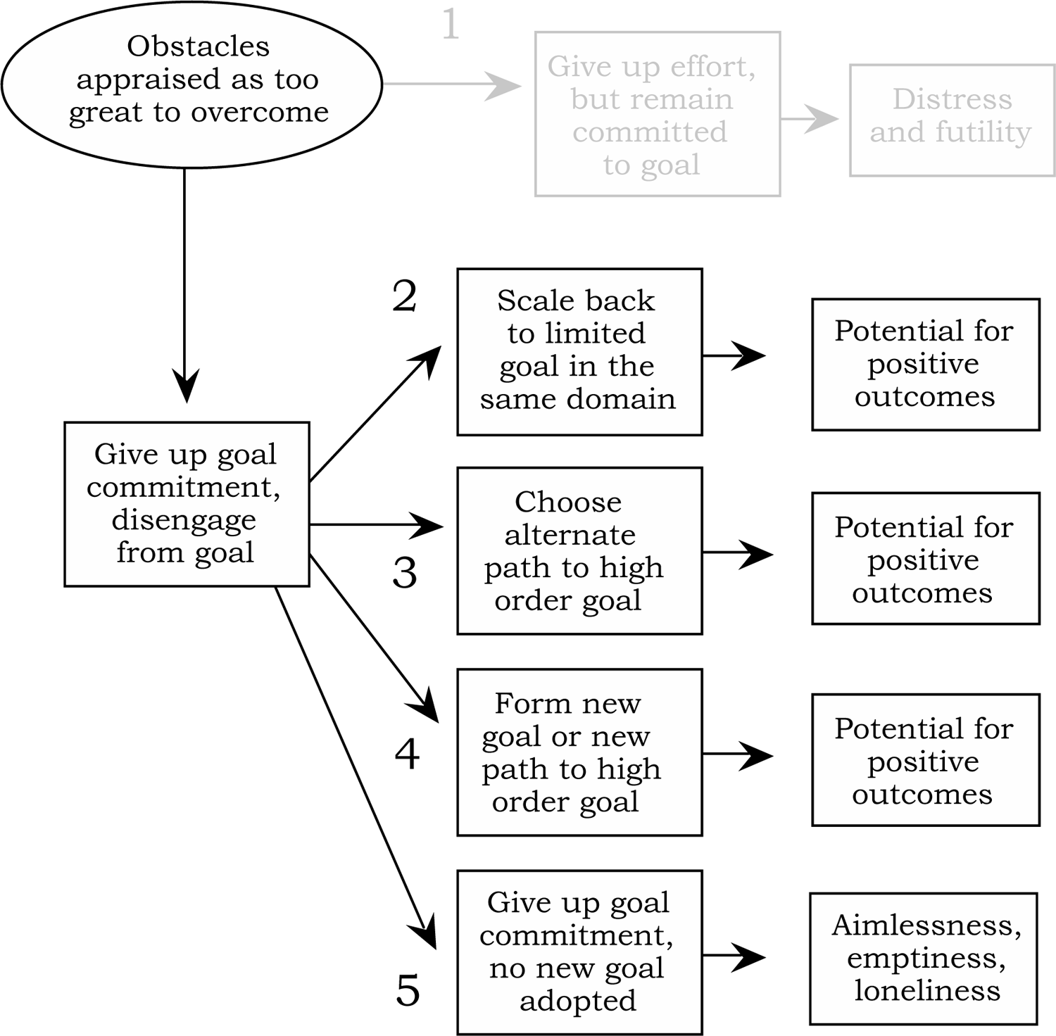 6 C. Wrosch et al. FIGURE 2 Consequences of four potential patterns of disengaging from a previously held goal (building on Figure 1).