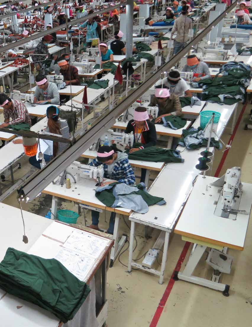 Summary Ly Sim passed productivity tests and was promoted t0 team leader in the sewing division of her factory in Phnom Penh, Cambodia s capital, in 2012.