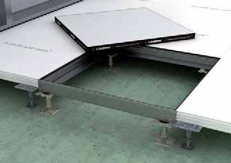 100 mm) Revision openings As a matter of course, hollow floors need to guarantee easy access to services. For this purpose, FLOOR and more can be equipped with revision openings.