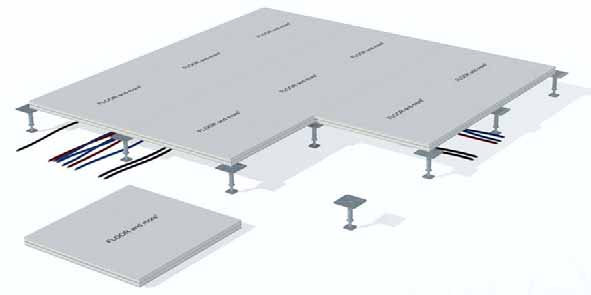 Lindner substructures Pedestals The substructure is an important component of every system floor.