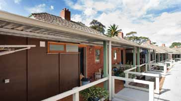 Highton Community Centre On land donated by the Alexander Miller Memorial Trust, Wintringham Housing accessed Government funding to build 34 handsome new units at Cranwell Court, Highton.
